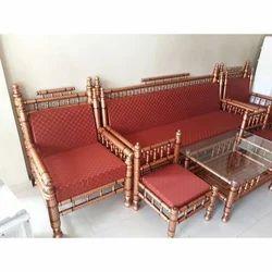 Modern Wooden Sofa Set, For Home