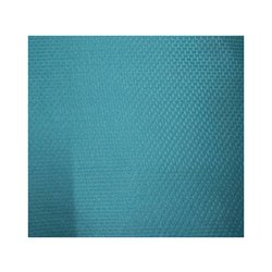 Plain Blue Polyester Fabric, Thickness: 1 Mm, Gsm: 100-150 Gsm