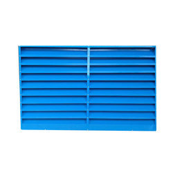 Blue Box Type Louver Sheet