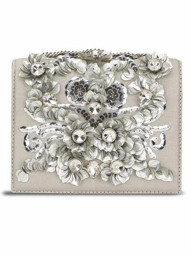 6992ff79948 Studio Accessories Grey Floral Bag