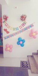 Birthday Party Name Decoration Service