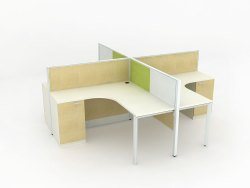 Ply Wooden Workstation.