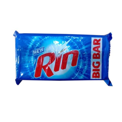Bar Blue Rin Detergent Cake, Shape: Rectangle