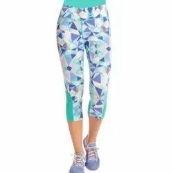 Shakthivelan Garments Printed Ladies Designer Legging, Size: S-L