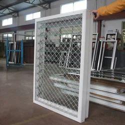 Aluminum Glass Shutter Window