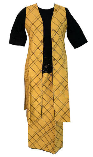Lavanya Cotton Designer Top With Palazzo Set