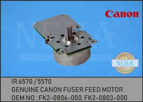 Genuine Canon Fuser Feed Motor Fk2-0806-000, Fk2-0803-000
