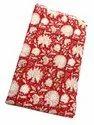 Vinayak Handicraft Natural Color Running Fabric Handmade Mughal Flower Design