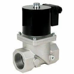 Cast Iron Low Pressure Gas Solenoid Valve, For Industrial