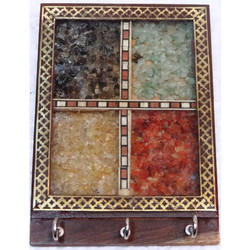 Gems Stone Key Holder