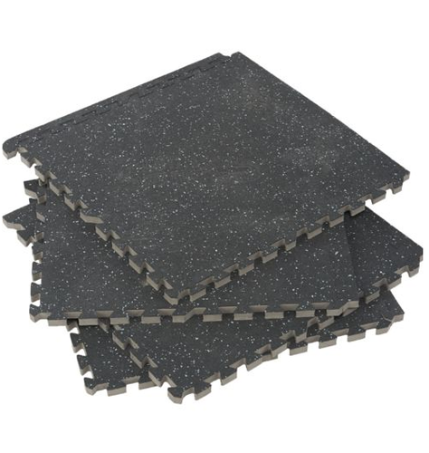 Black Gym Floor Tiles Thickness 20 25 Mm Id 19625939091