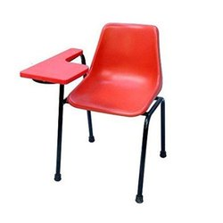 Mebel Blue Student Writing Pad Chair, M-sc-01