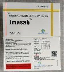 Imasab 400 Mg Tablet Imatinib Mesylate 400 Mg