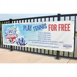 Rectangle PVC Outdoor Banner, For Advertising, Size: Custom Sizes