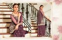 Staggering Butterfly Net Embroidered Sharara Salwar Kameez