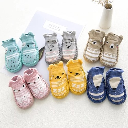 Printed Baby Shoes, Packaging Type: Box