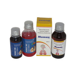 Ambroxol Hydrochloride Terbutaline Sulphate Guaiphenesin Menthol Syrup