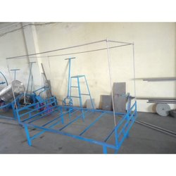 Color Coated Single Iron Bed Frame, For Home