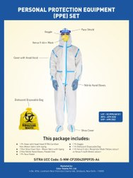 Sitra Approved Covid 19 PPE Kit