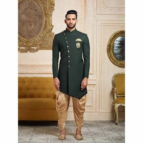 591971e06e Terry Rayon Imported Fabric Party Wear Mens Designer Indo Western Suit,  Size: 36-46