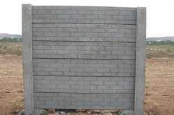 RCC Concrete Boundary Wall