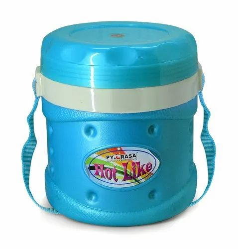 Plastic Insulated Lunch Box (Hot Like 3)