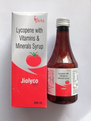 Lycopene Vitamins and Minrals Syrups