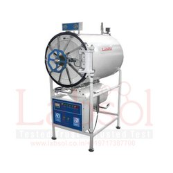 Labsol Stainless Steel Horizontal High Pressure Autoclave