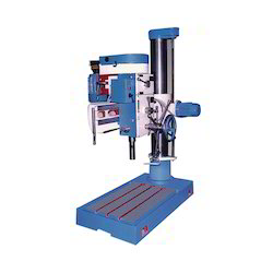 Semi Automatic Radial Drilling Machine