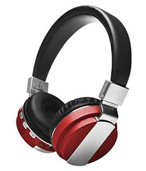 Woos WS-H04 Bluetooth Headset with Mic Headphones (Multicolour)