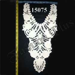 Women Cloth 100% Cotton Lace Neck Collar