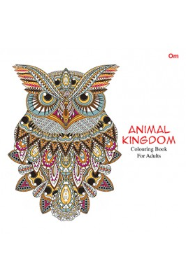 Animal Kingdom Colouring Book For Adult At Rs 265 Piece Coloring
