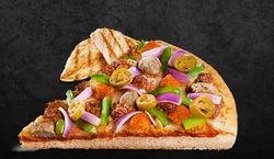 Triple Chicken Feast Pizza
