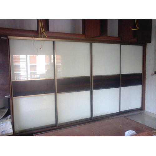 Cost Of Fitted Wardrobes: Aristo Sliding Wardrobe, For Home, Rs 2150 /square Feet