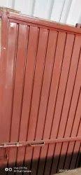 Brown Steel Door