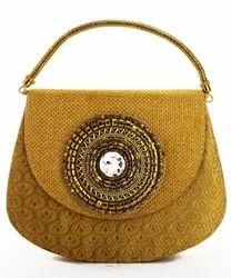 Jute Clutch Bag