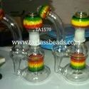 Colour Change Glass Smoking Pipe