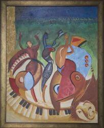 Canvas Acrylic Paintings