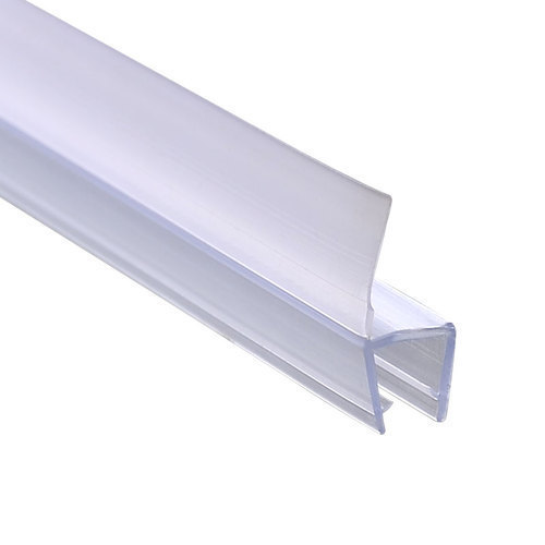 Plastic Profiles For Frame Less Glass Doors Side Seal