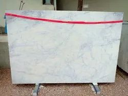 White Rajasthan, India Banswara Marble Slabs, Features: For Wall Cladding And Flooring, Thickness: 18 mm