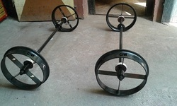 Railway Trolley - Attachment Rail Dolly Manufacturer from