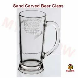 Transfer Engraving Beer Mug