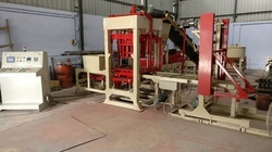 Automatic Fly Ash Brick Making Machine, Total Weight: 3500 kg