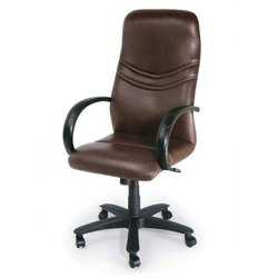 Artificial Leather Armrest Revolving Chair