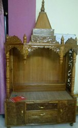 Teekwood Colour Wooden Temple