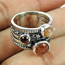 Scrumptious Band Ring Handmade 925 Sterling Silver