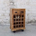 Rustic Ultimate Bar Trolley