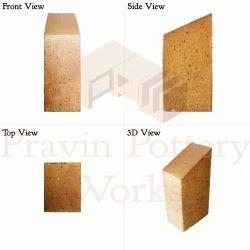 Refractory Edge Skew Brick