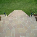 White Mint And Modak Stone Landscaping Tiles