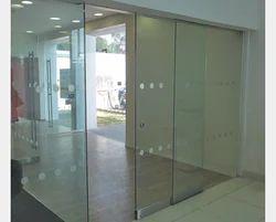 Automatic Sensor Glass Sliding Door